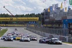 Partenza, Bruno Spengler, BMW Team RBM, BMW M4 DTM al comando