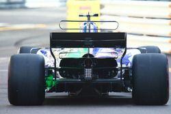 Sauber C36 arka bölüm detay