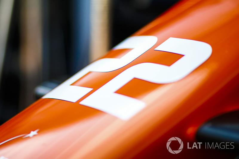 Auto von Jenson Button, McLaren MCL32