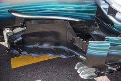 Mercedes-Benz F1 W08 Hybrid: Windabweiser