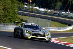 #50 Mercedes – AMG Team HTP Motorsport, Mercedes-AMG GT3: Dominik Baumann, Maximilian Buhk, Edoardo