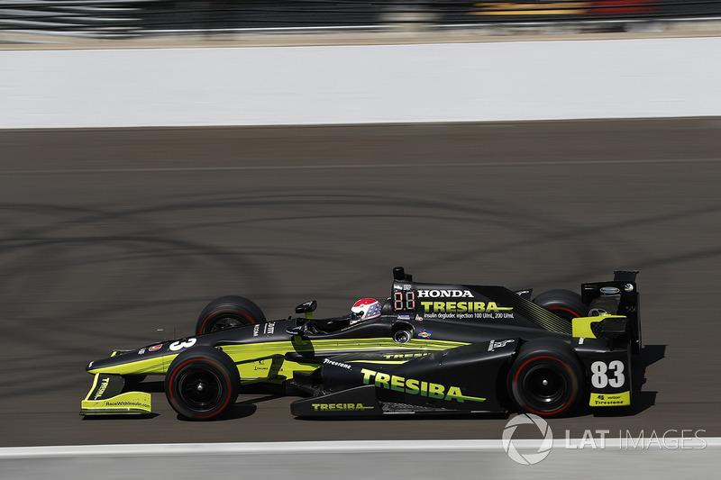 Motorschaden: Charlie Kimball, Chip Ganassi Racing, Honda