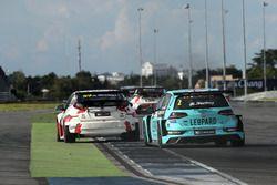 Jean-Karl Vernay, Leopard Racing Team WRT, Volkswagen Golf GTi TCR, Norbert Michelisz, M1RA, Honda Civic TCR