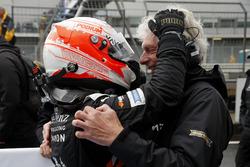 Joey Mawson, Van Amersfoort Racing, Dallara F317 - Mercedes-Benz with Frits van Amerfoort, Van Amers