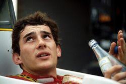 Ayrton Senna, Williams FW08C ile ilk testini anlatıyor