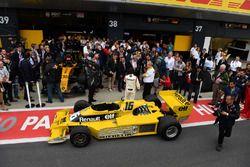 Jerome Stoll, René Arnoux, Renault RS01