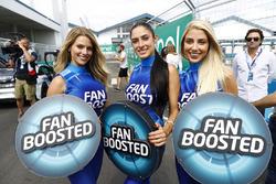 Chicas Fan Boost