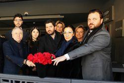 Jean Todt eşi ve TOSFED başkanı Serkan Yazıcı'nın Reina ziyareti
