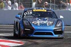 #018 Case.It Racing, Porsche Cayman GT4 Clubsport MR: Cameron Cassels