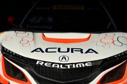 Coche de #43 RealTime Racing Acura NSX GT3: Ryan Eversley