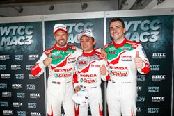 Tiago Monteiro, Honda Racing Team JAS, Honda Civic WTCC, Ryo Michigami, Honda Racing Team JAS, Honda