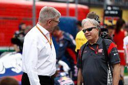 Ross Brawn, Formel-1-Motorsportchef, Gene Haas, Haas-Teambesitzer