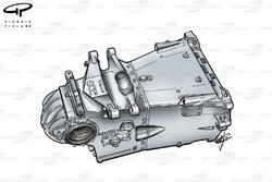 Boîte de vitesse de la Minardi M02