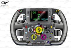 Ferrari F14 T steering wheel