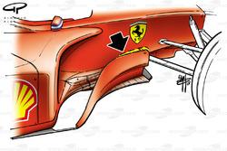 Développement des déflecteurs de la Ferrari F2001 (652)