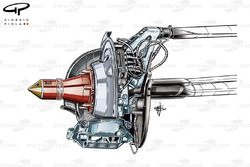 DUPLICATE: Sauber C33 4 piston rear caliper