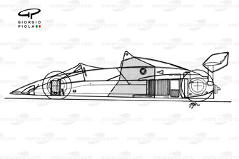 Brabham BT52B 1983 schematic overview