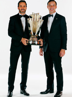 Champion Jimmie Johnson, Hendrick Motorsports Chevrolet and crew chief Chad Knaus