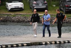 Valtteri Bottas, Mercedes AMG F1, mit Trainer Antti Vierula