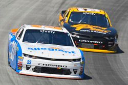 Spencer Gallagher, GMS Racing Chevrolet and Brendan Gaughan, Richard Childress Racing Chevrolet