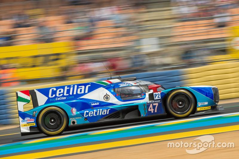 18. LMP2: #47 Villorba Corse, Dallara P217 Gibson