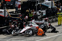 Pitstop Helio Castroneves, Team Penske Chevrolet