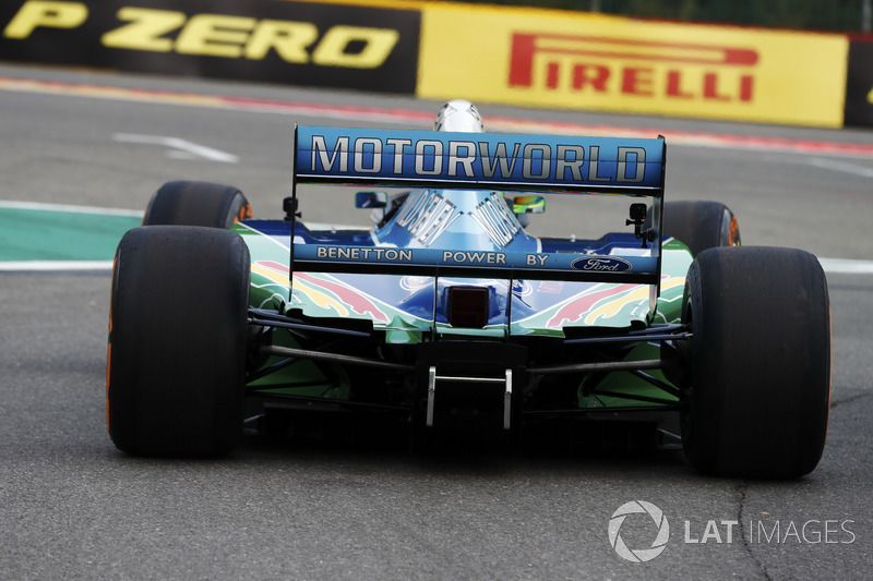 Mick Schumacher, Benetton Ford B194