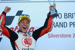 Podio: il vincitore della gara Takaaki Nakagami, Idemitsu Honda Team Asia