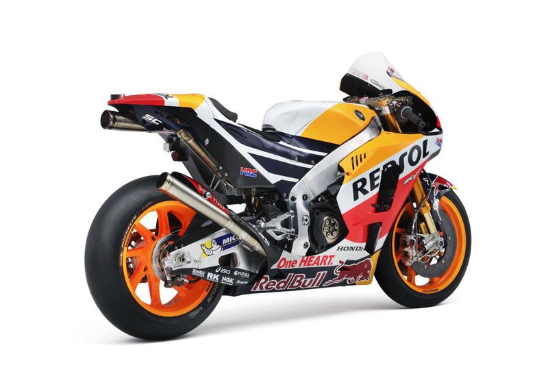 La moto de Dani Pedrosa, Repsol Honda Team