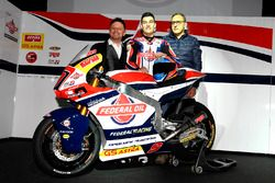 Fausto Gresini, Team Manager Federal Oil Gresini Moto2; Jorge Navarro, Federal Oil Gresini Moto2