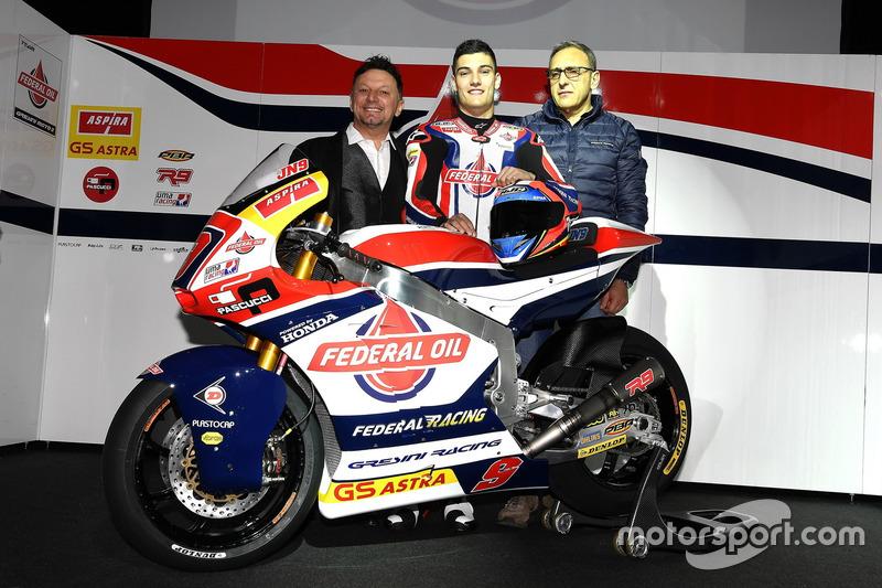 Fausto Gresini, Team Manager Federal Oil Gresini Moto2 y Jorge Navarro, Federal Oil Gresini Moto2 e invitados