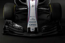L'aileron avant de la Williams FW40