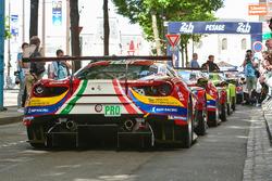 #51 AF Corse Ferrari 488 GTE: James Calado, Alessandro Pier Guidi, Lucas di Grassi