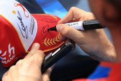 Signature of Nicolas Prost, Vaillante Rebellion Racing