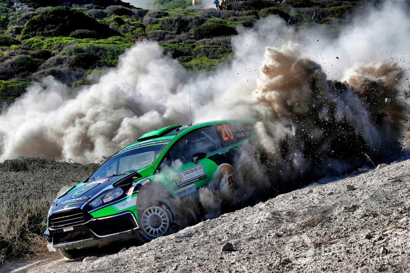 Yazeed Al Rajhi, Michael Orr, Yazeed Racing Ford Fiesta RS WRC