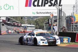 #74 Jamec Pem Racing Audi R8 LMS: Geoff Emery, Kelvin van der Linde