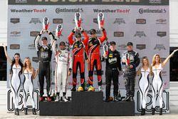 PC podium: winners James French, Patricio O'Ward, Performance Tech Motorsports