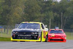 Brandon Jones, Richard Childress Racing Chevrolet and Justin Allgaier, JR Motorsports Chevrolet