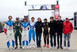 Bruno Senna, Mathias Lauda, Nicolas Prost, Nelson Piquet Jr., Nelson Piquet, Pietro Fittipaldi, Pedr