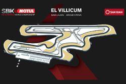La carte du circuit de Villicum