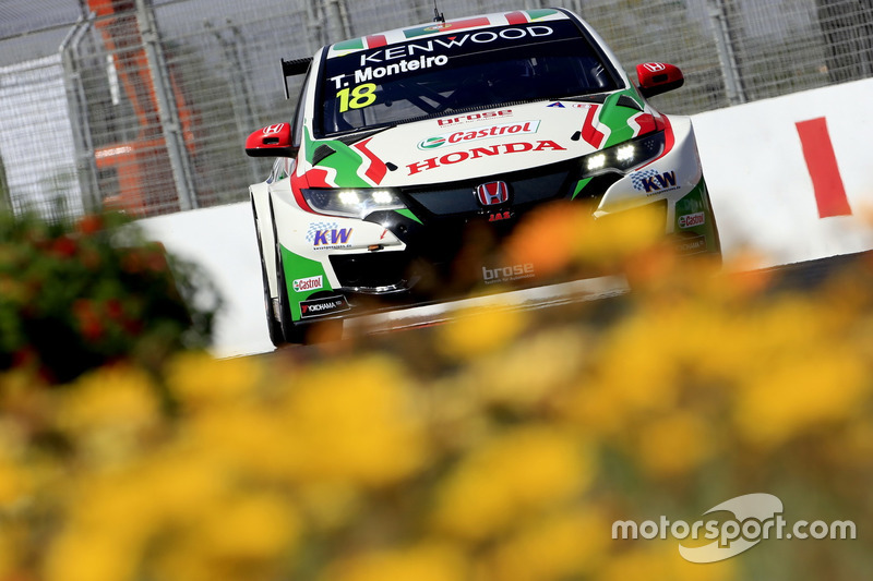 Tiago Monteiro, Honda Racing Team JAS, Honda Civic WTCC