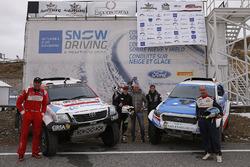 Nani Romaa and Alex Haro, Toyoya Gazoo Racing, Xevi Pons and Rubén García, Ford South Racing and Cri