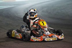 Pedro Hiltbrand, CRG, en la final del CIK FIA World Championship