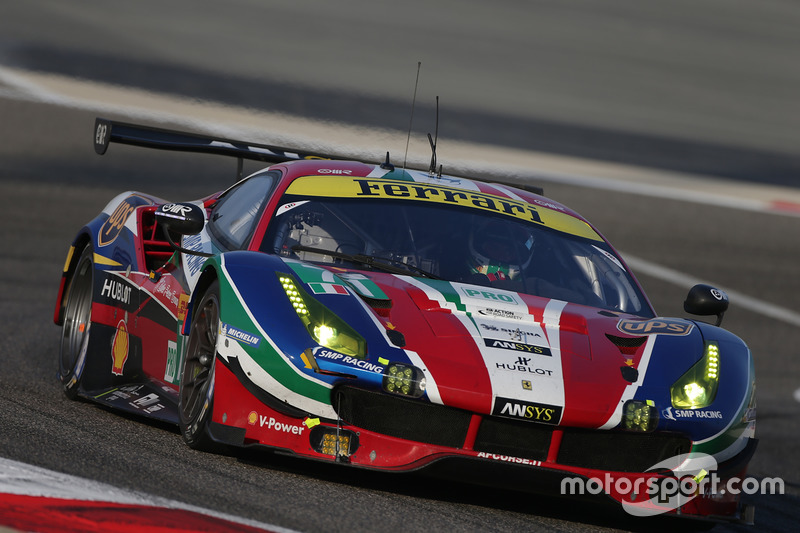 5. LMGTE-Pro: #71 AF Corse, Ferrari 488 GTE: Davide Rigon, Sam Bird