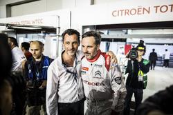 Yvan Muller, Citroën World Touring Car Team, Citroën C-Elysée WTCC avec François Ribeiro, Directeur d'Eurosport Motorsport