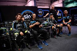 Pietro Caprara, Sky Racing Team VR46 technical director, Nicolo Bulega, Sky Racing Team VR46, Andrea Migno, Sky Racing Team VR46
