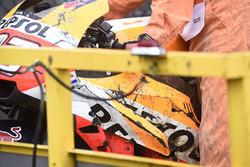 حادث مارك ماركيز، ريبسول هوندا