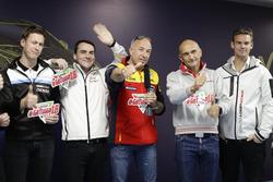 Ники Катсбург, Polestar Cyan Racing, Норберт Михелиц, Honda Racing Team JAS, Том Коронель, Roal Moto