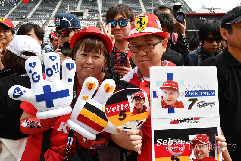 Уболівальники Ferrari