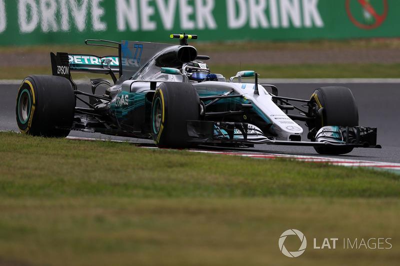 7. Valtteri Bottas, Mercedes-Benz F1 W08 (penalti lima grid)